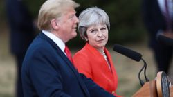 May And Trump Meet The Press: Not 'Love Actually', Just