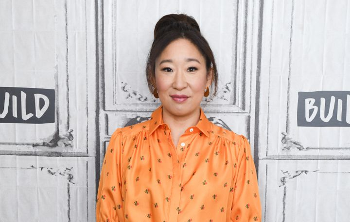 "Sandra Oh was nominated for her role in ""Killing Eve."""