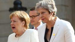 Berlin-Prozess in London: May und Merkel gemeinsam für Integration und