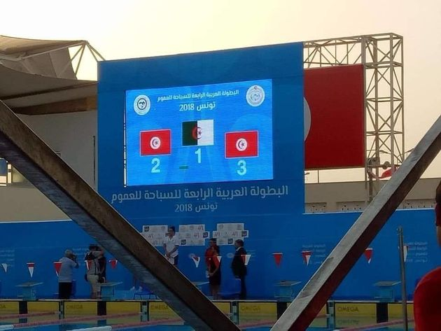 Championnat arabe de natation (1e journée): huit médailles pour l'Algérie, dont trois