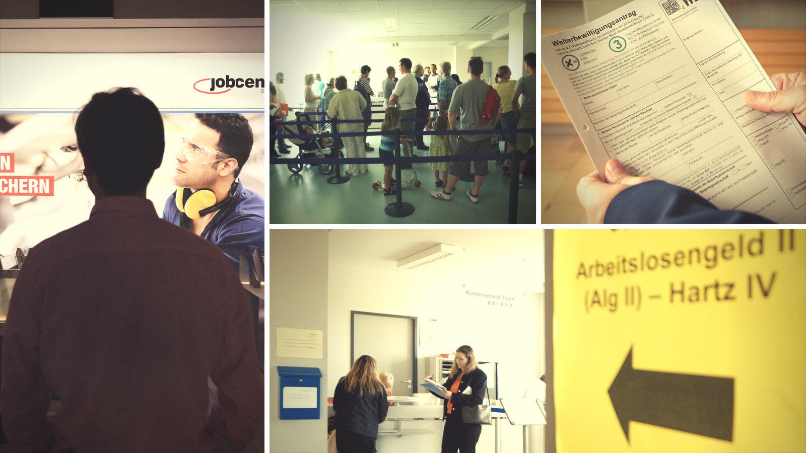 Wir haben Menschen im Jobcenter gefragt, was für sie Glück