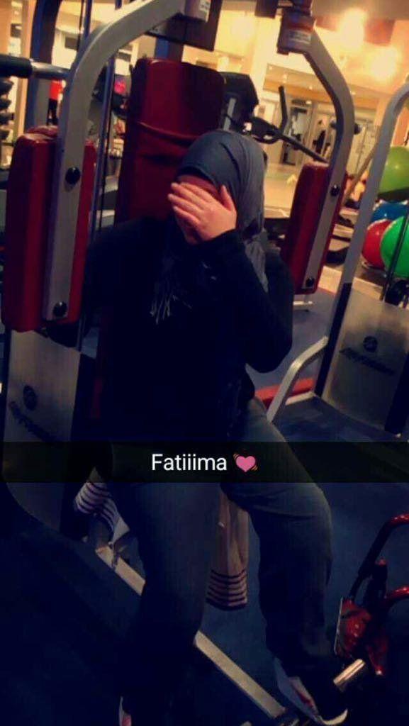 In diesesFitnessloft will Fatima keinen Fuß mehr