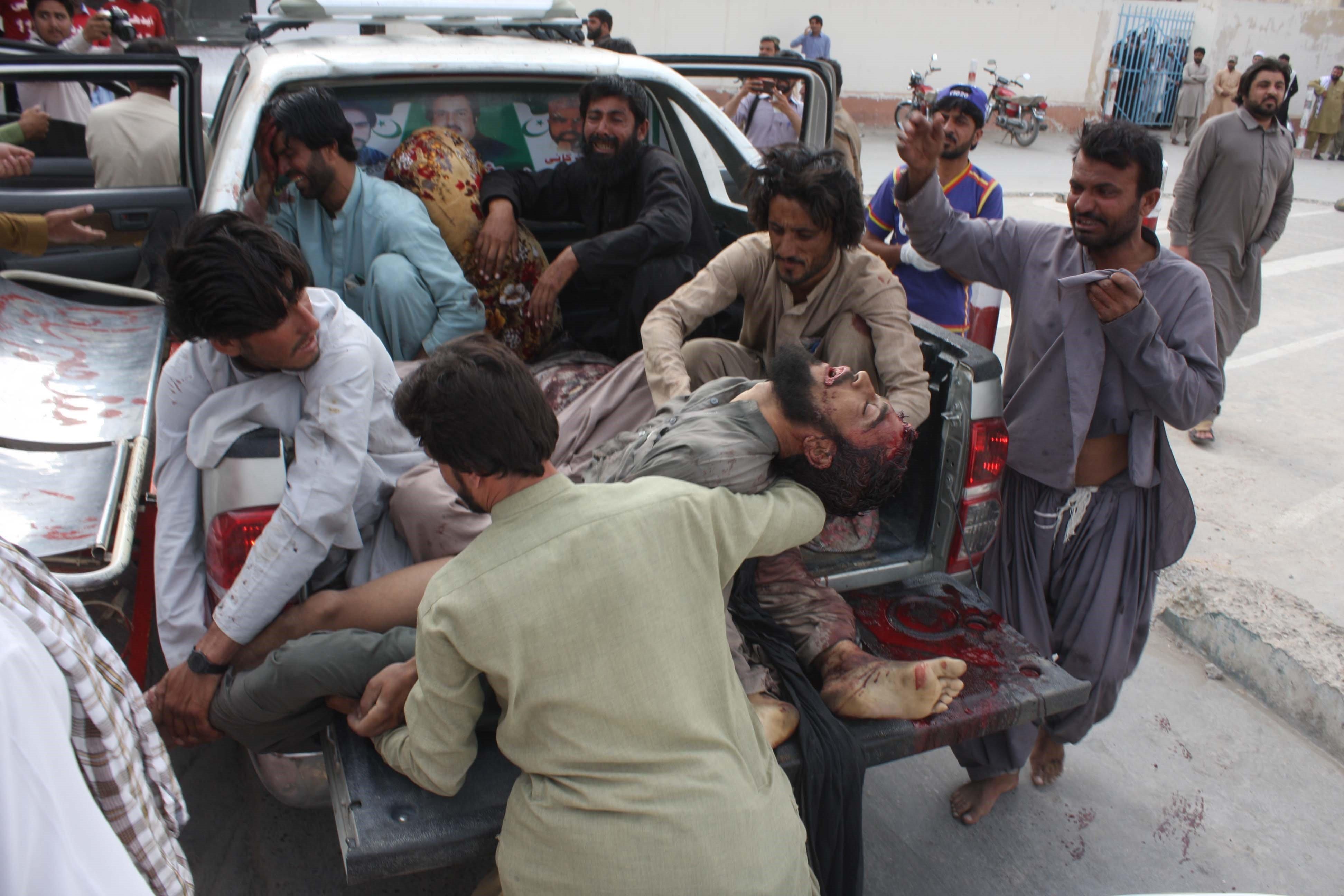 Pakistan: au moins 128 morts dans l'attentat perpétré lors d'une réunion