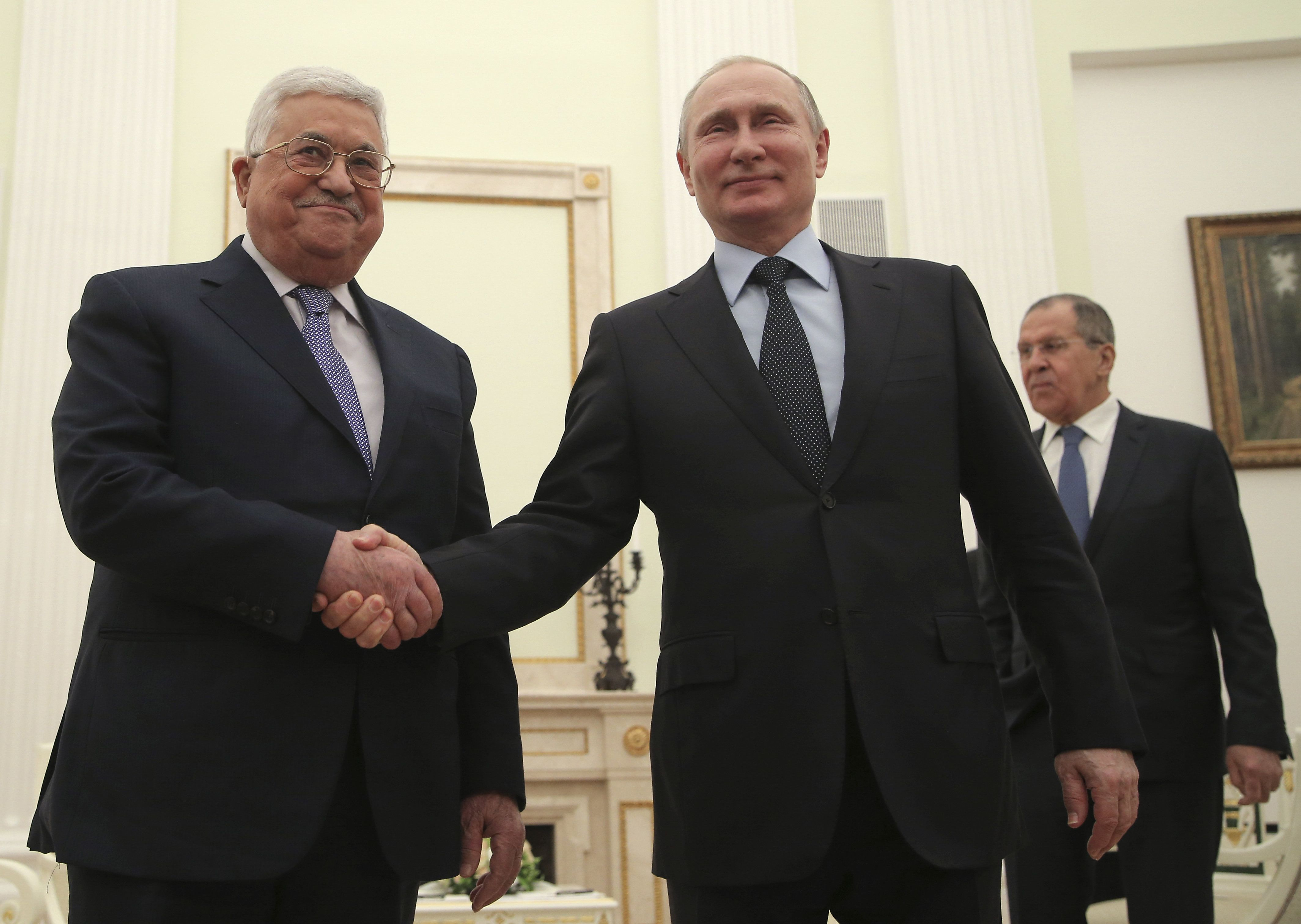 Συνάντηση Αμπάς - Πούτιν στο
