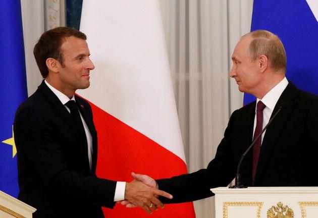 Ιράν, Συρία και Ουκρανία στο επίκεντρο της συνάντησης Μακρόν -
