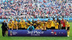 벨기에가 잉글랜드를 꺾고 월드컵 3위에