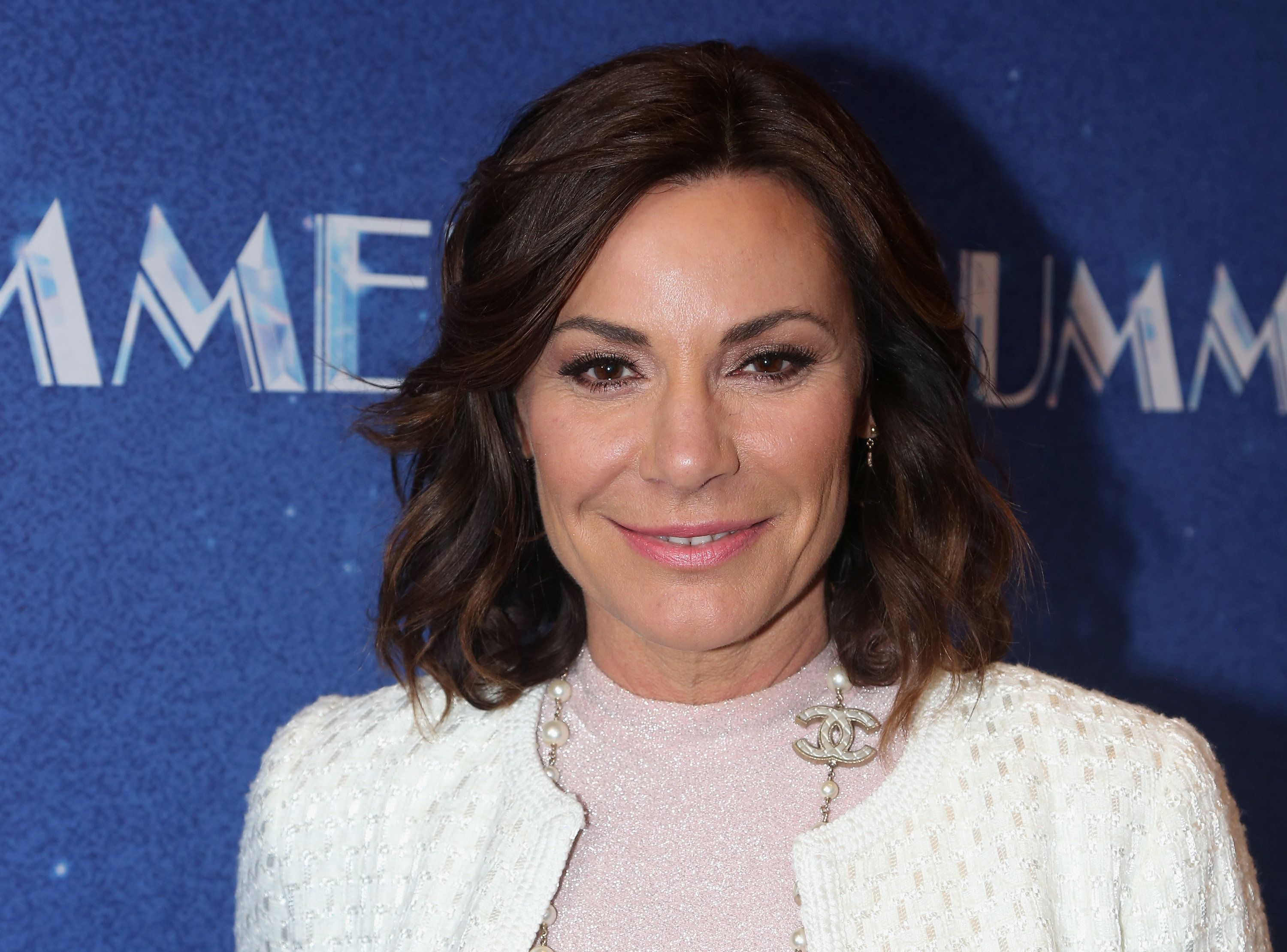 NEW YORK, NY - APRIL 23:  LuAnn de Lesseps poses at the opening night of 'Summer: The Donna Summer Musical' on Broadway at The Lunt-Fontanne Theatre on April 23, 2018 in New York City.  (Photo by Bruce Glikas/Bruce Glikas/FilmMagic)