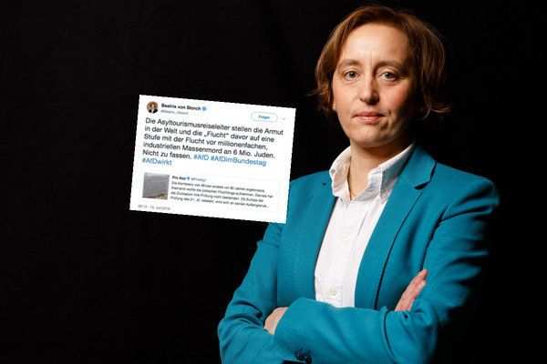 AfD-Politikerin Beatrix von