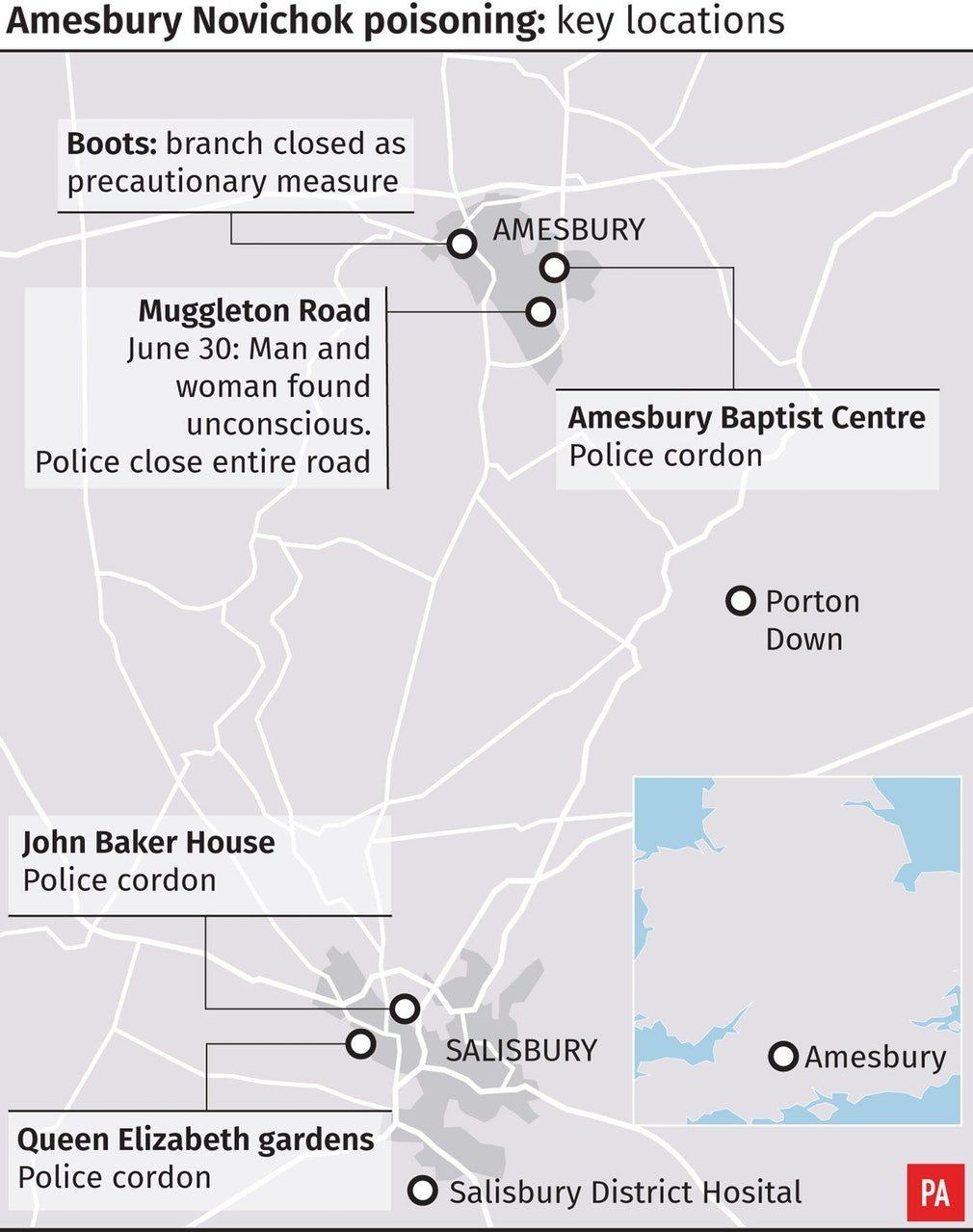 Amesbury poisoning: Police REVEAL source of deadly Novichok