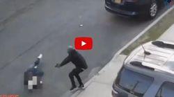 Σοκαριστικό βίντεο δείχνει ένοπλο άνδρα να πυροβολεί τρεις φορές τον γιο γνωστού μαφιόζου των