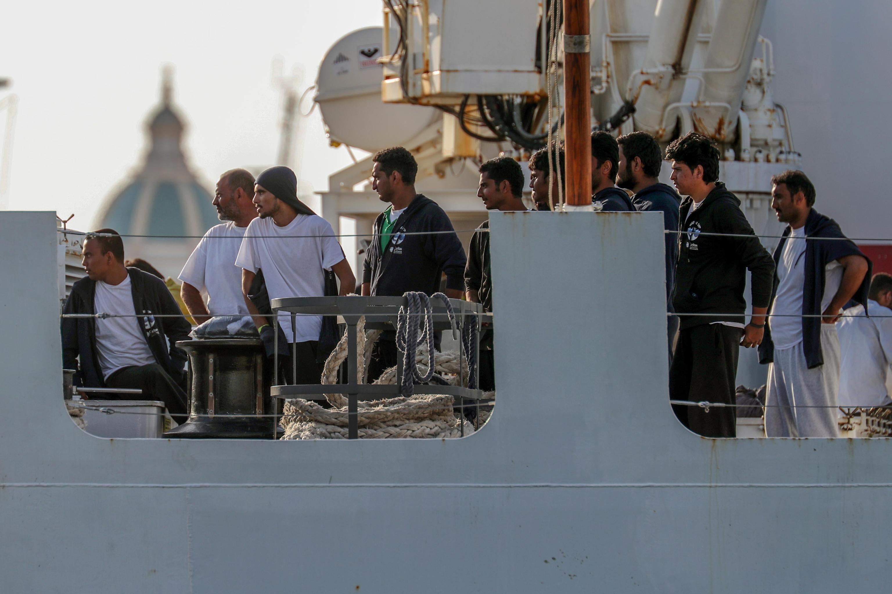 Deutschland verspricht Italien, 50 Bootsflüchtlinge aufzunehmen