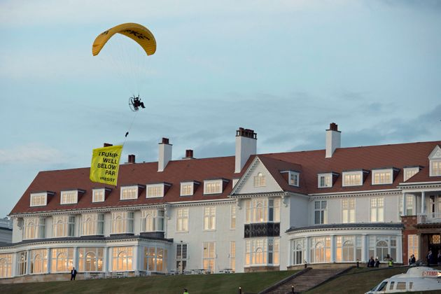 Man Charged Over Donald Trump Fly-By Protest In