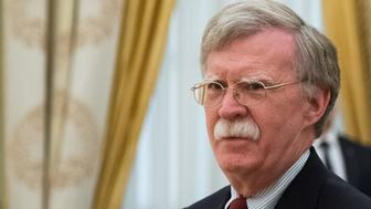 U.S. National Security Adviser John Bolton waits before a meeting with Russia's President Vladimir Putin at the Kremlin in Moscow, Russia June 27, 2018. Alexander Zemlianichenko/Pool via REUTERS