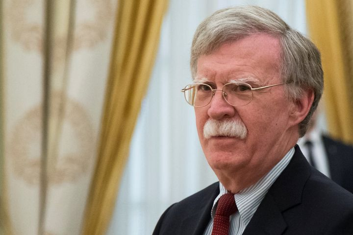 White House national security adviser John Bolton claimed that new indictments of 12 Russians inspecial counsel Robert