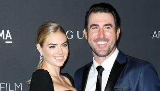 Model Kate Upton and Major League Baseball pitcher Justin Verlander pose at the Los Angeles County Museum of Art (LACMA) Art+Film Gala in Los Angeles, October 29, 2016. REUTERS/Danny Moloshok