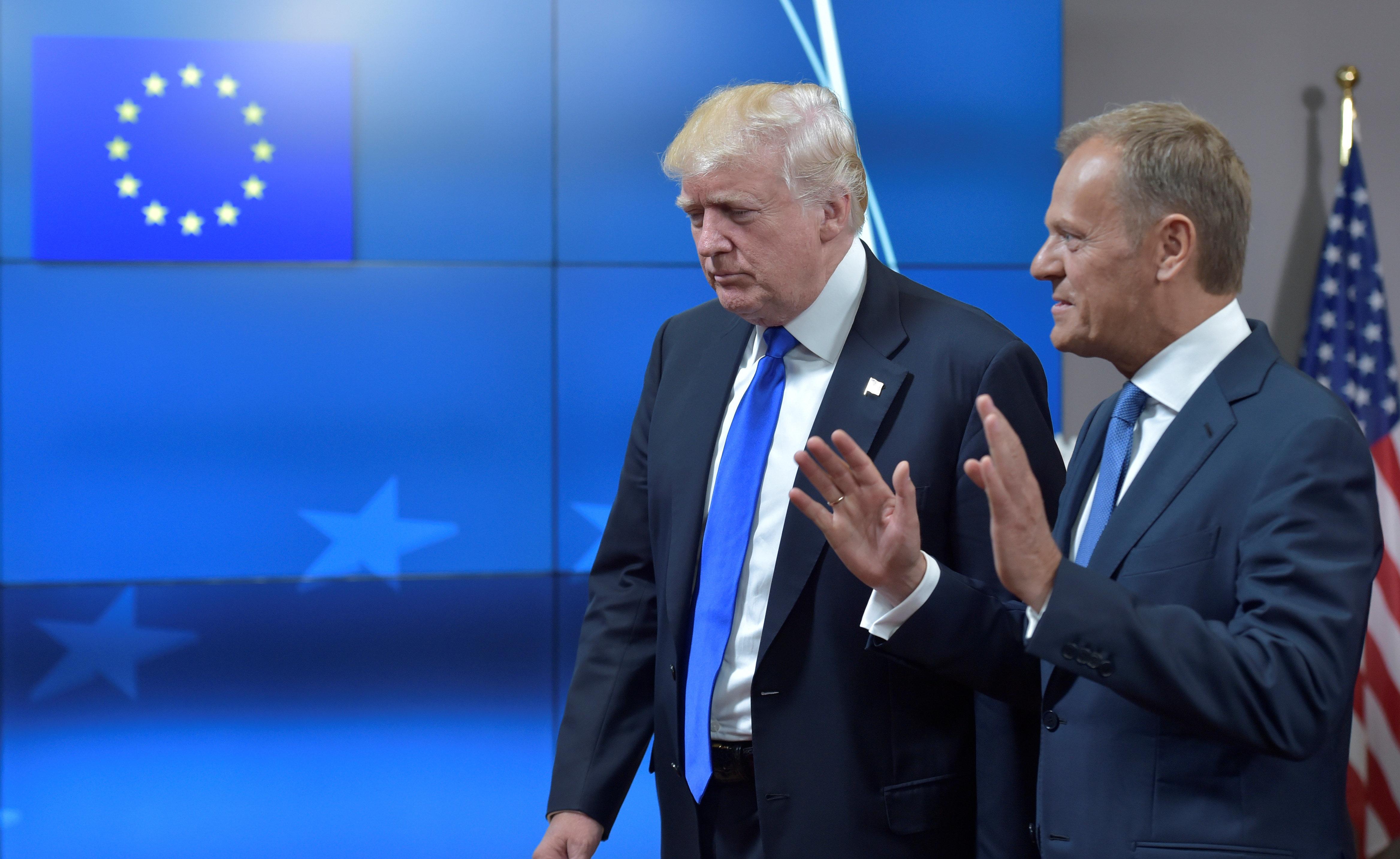 Τουσκ: Το να πει κανείς ότι η ΕΕ και οι ΗΠΑ είναι εχθροί είναι «fake