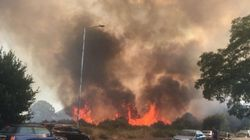 Huge Grassland Blaze In East London Tackled By More Than 200