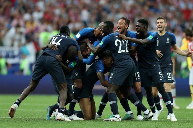 '프랑스 우승'...크로아티아는 멋진 준우승을