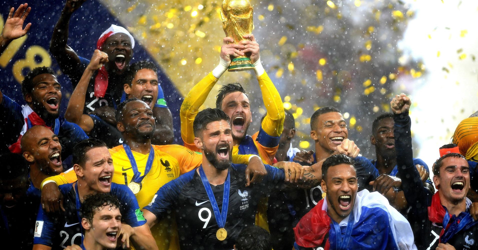 2018 World Cup Final: France Beats Croatia To Win Second Title