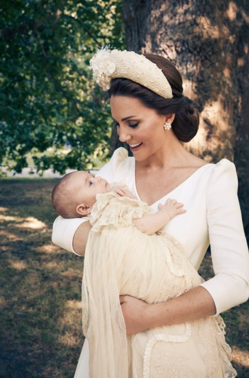 Family Photos Of Prince Louis's Christening Released By William And