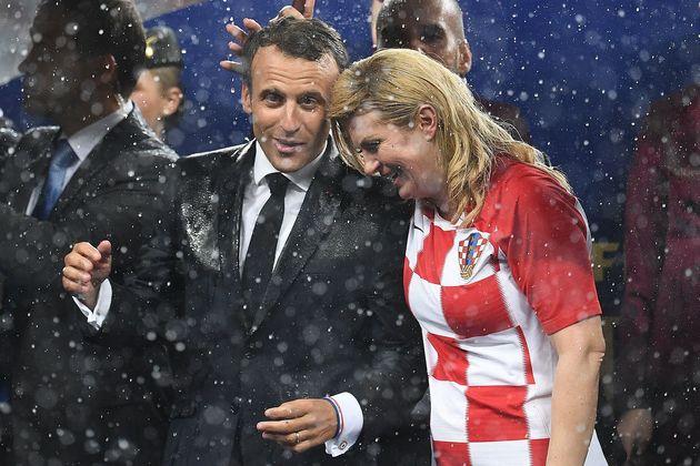 프랑스가 월드컵에서 우승한 순간 프랑스 대통령의