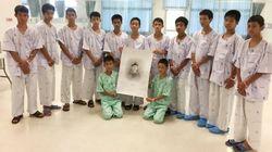 구조된 태국 소년들이 이 그림을 보고는 눈물을 흘렸다