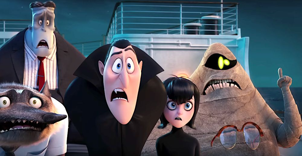 Hotel Transylvania 3: Summer Vacation topped the domestic box office charts with 44 million in its first week