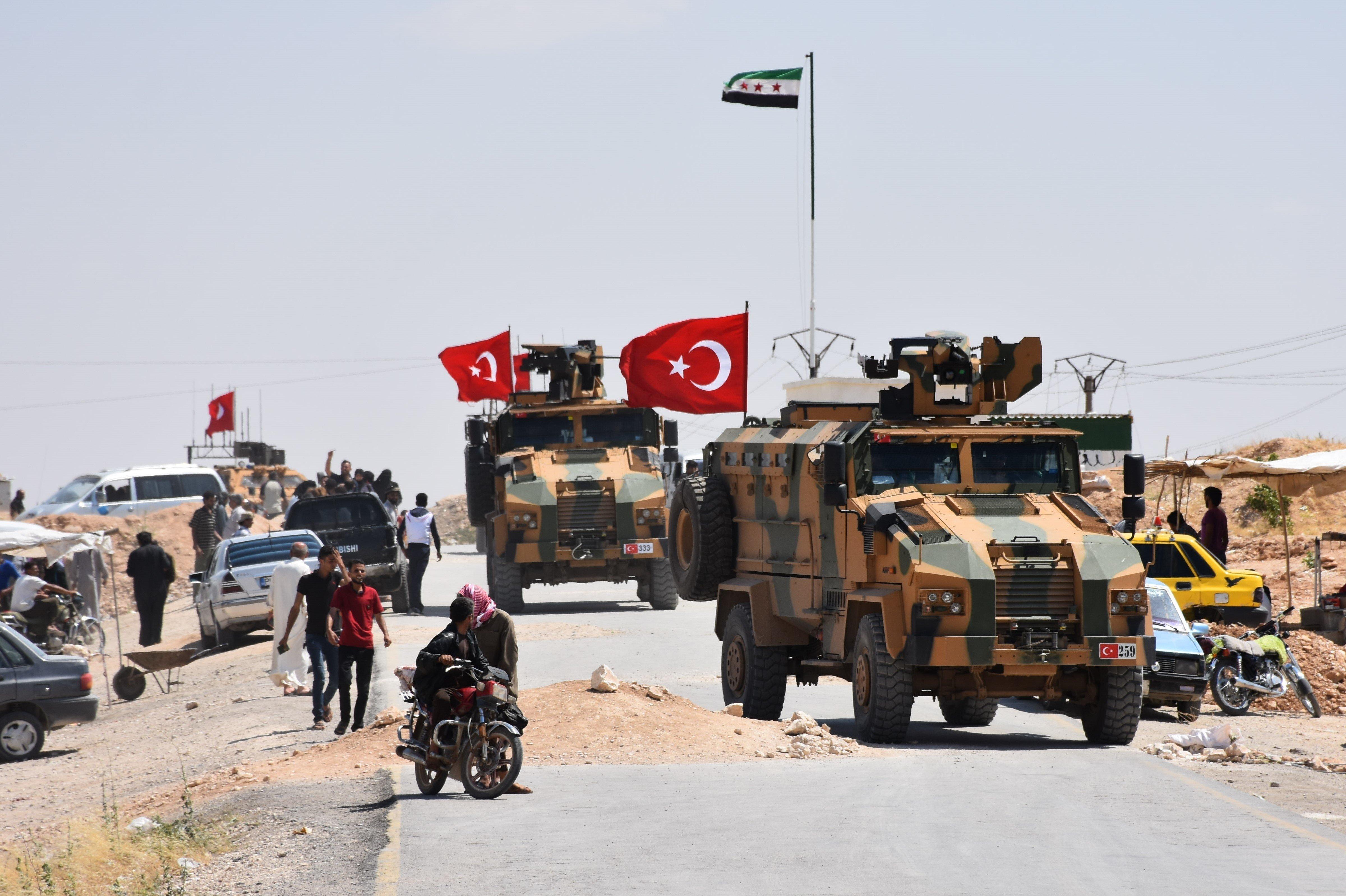 Αποχωρούν από την Μανμπίτζ της Συρίας οι Κούρδοι του YPG. Υπό τον έλεγχο των Τούρκων η περιοχή μετά τη συμφωνία με τις