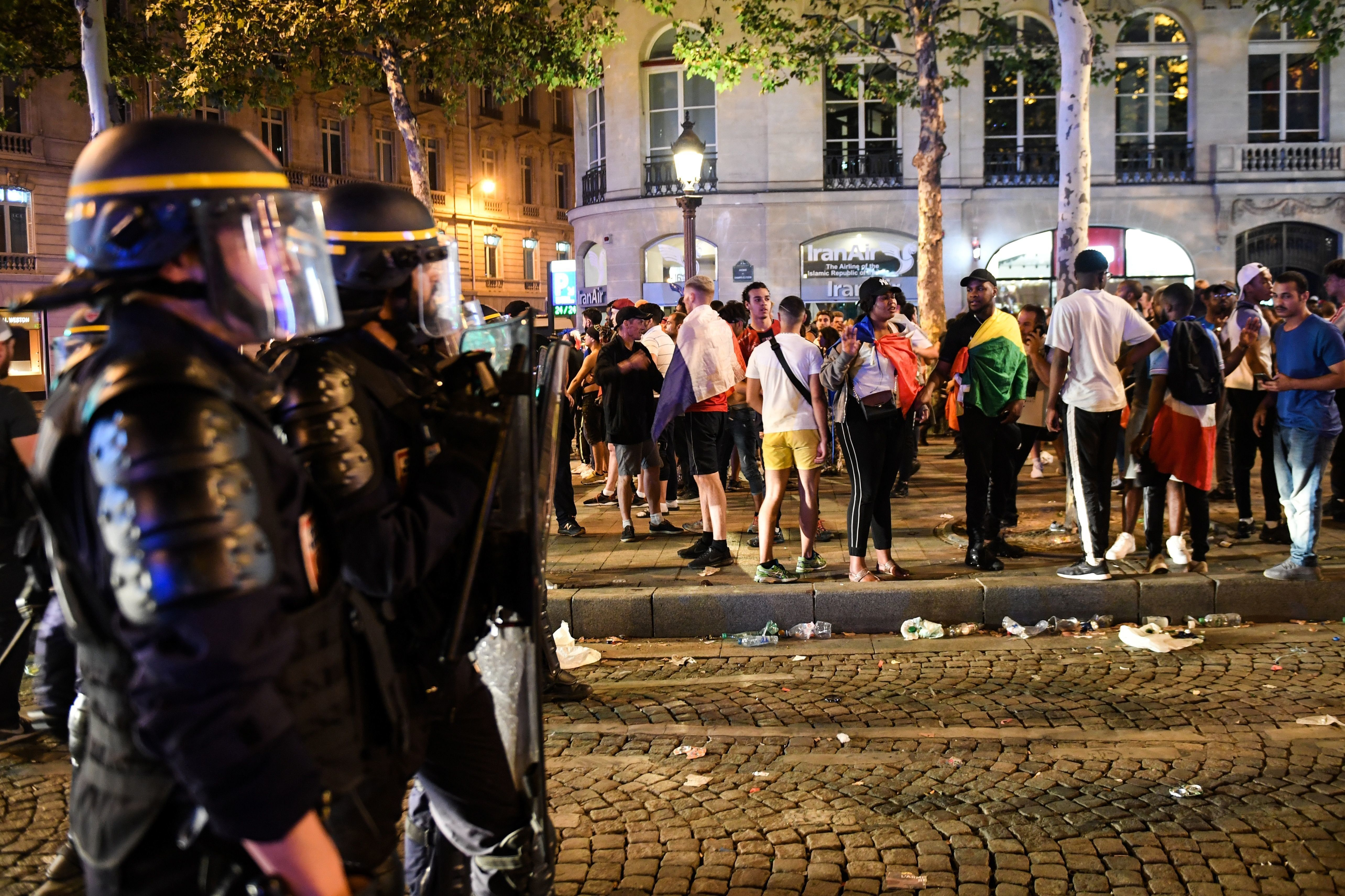 Two Football Fans Die In France As Joy Turns To Chaos After