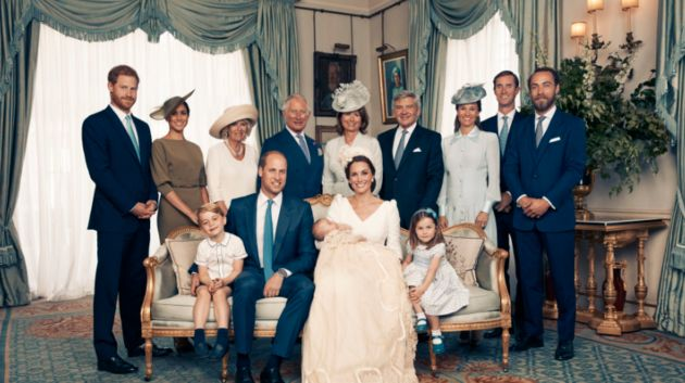 Prince Louis Beams As He's Held By Duchess Of Cambridge In Latest Photo From