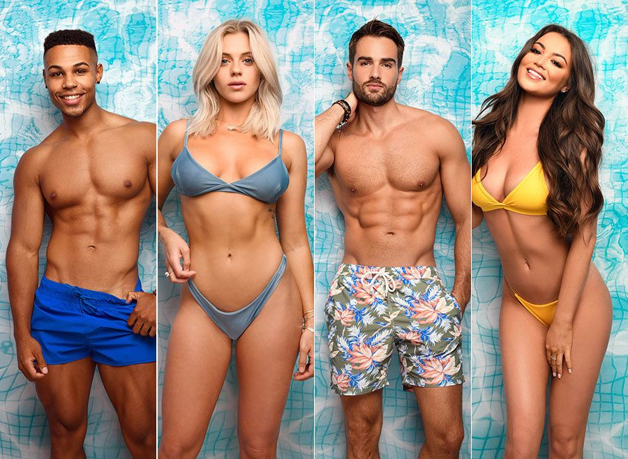 Get To Know The Four New Arrivals In The 'Love Island'