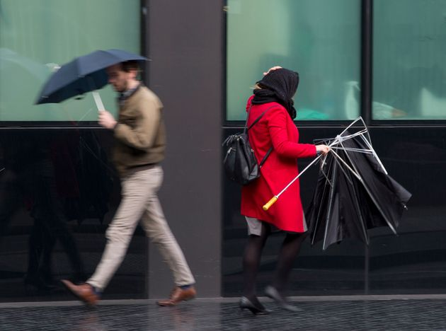 Thundery showers are set to break up the hot
