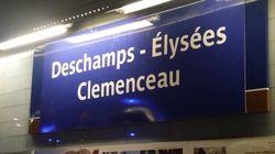 À Paris, plusieurs stations de métro changent de nom pour célébrer la victoire de la