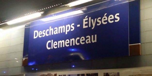 Merci les Bleus: la RATP célèbre la victoire de l'équipe de France et change les...