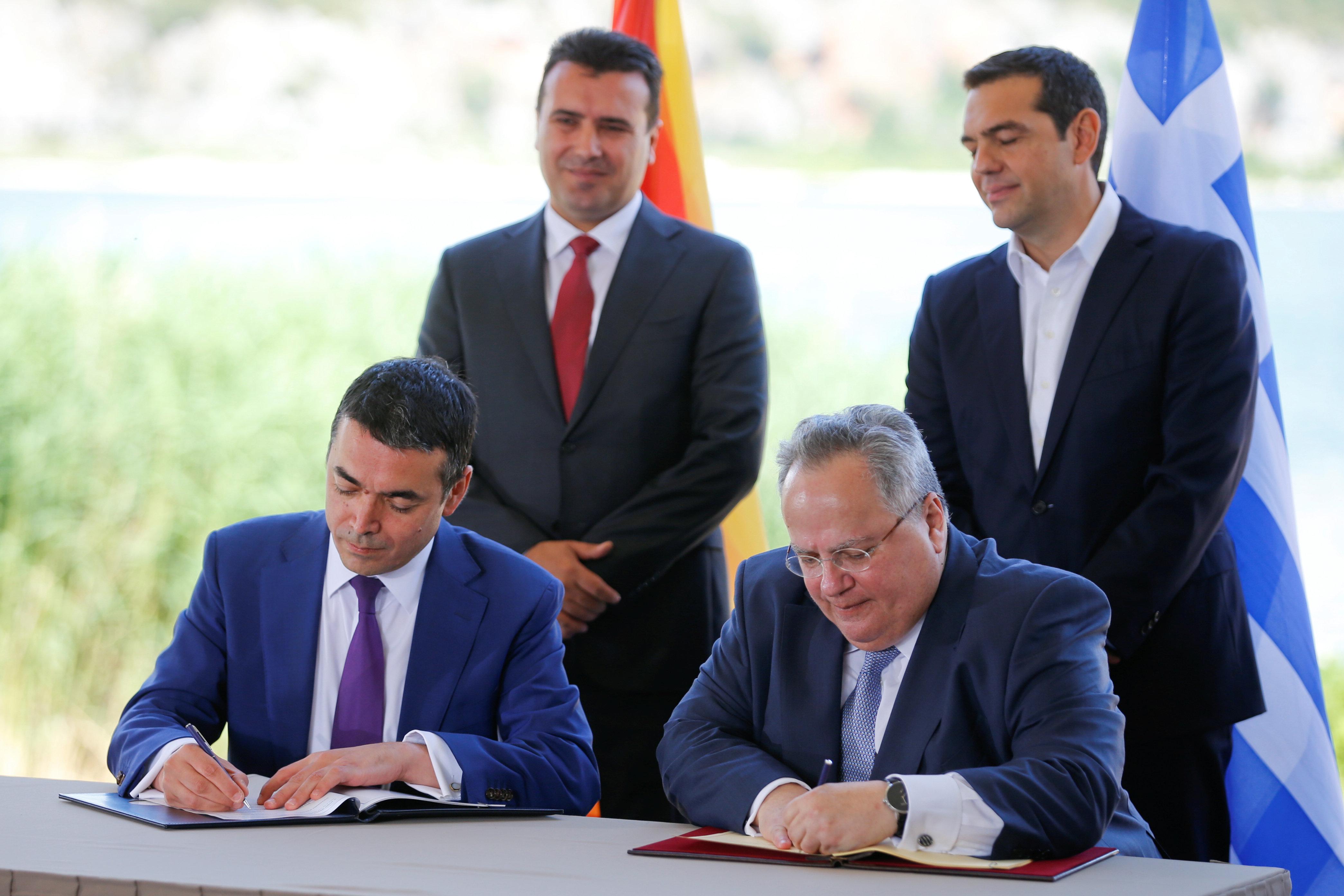 Περισσότερες από 320 προσωπικότητες της πολιτικής, της διανόησης και των Τεχνών υπογράφουν κείμενο υπέρ της Συμφωνίας των Πρε...