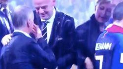 WM: Franzosen feiern – was eine Frau im Hintergrund tut, sorgt für