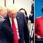 Eine Grafik zeigt, was Putin von Trump hält –und was von