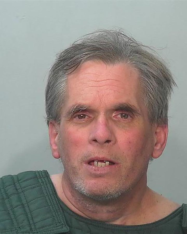 John Miller after his arrest by police on July 15. Authorities used a public DNA database to identifyhim as a suspect.&