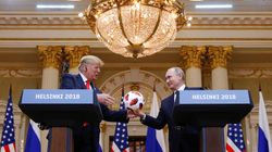 9 Extraordinary Moments From Donald Trump's Press Conference With Vladimir