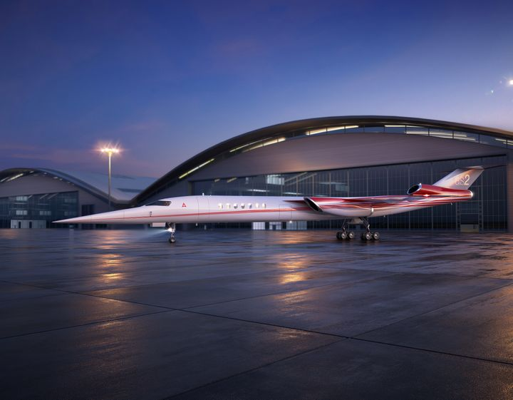 The Aerion AS2 is a supersonic business jet being developed by Lockheed Martin in partnership with the Nevada-based startup A