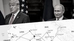 Nach Putin-Gipfel: Karte zeigt riskanten Fehler, den Trump in Syrien machen