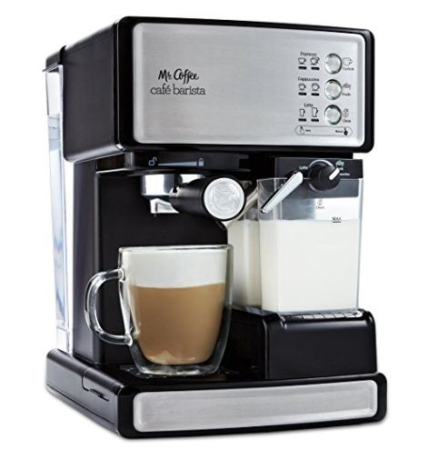 """<strong>Normally</strong>: $199.99<br><strong>Sale</strong>: $149.99<br><a href=""""https://www.amazon.com/Mr-Coffee-Barista"""