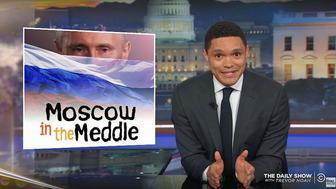 Trevor Noah of The Daily Show analyzes the Trump-Putin news conference