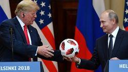 Trump conciliant avec Poutine à Helsinki, tollé à