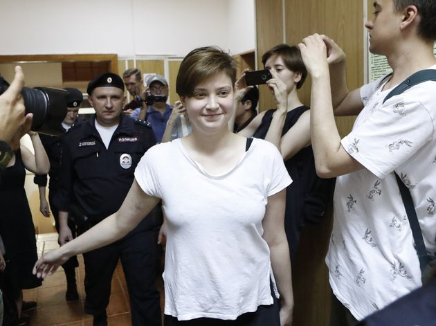Pussy Riot Protesters Jailed For World Cup Pitch