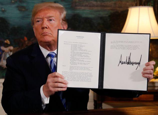 Τραμπ: Αναβρασμός και ταραχές στο Ιράν από τότε που οι ΗΠΑ αποσύρθηκαν από τη συμφωνία για το πυρηνικό