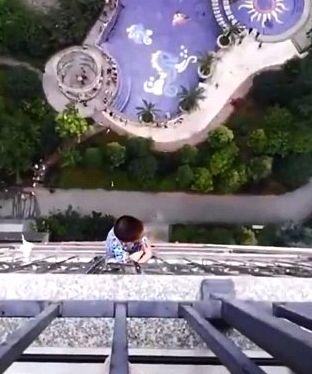 Fünfjähriger fällt aus 19. Stock – mit einem Trick überlebt er den Sturz