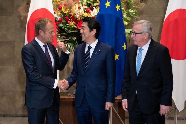 Υπογραφή της συμφωνίας ελευθέρου εμπορίου ΕΕ-