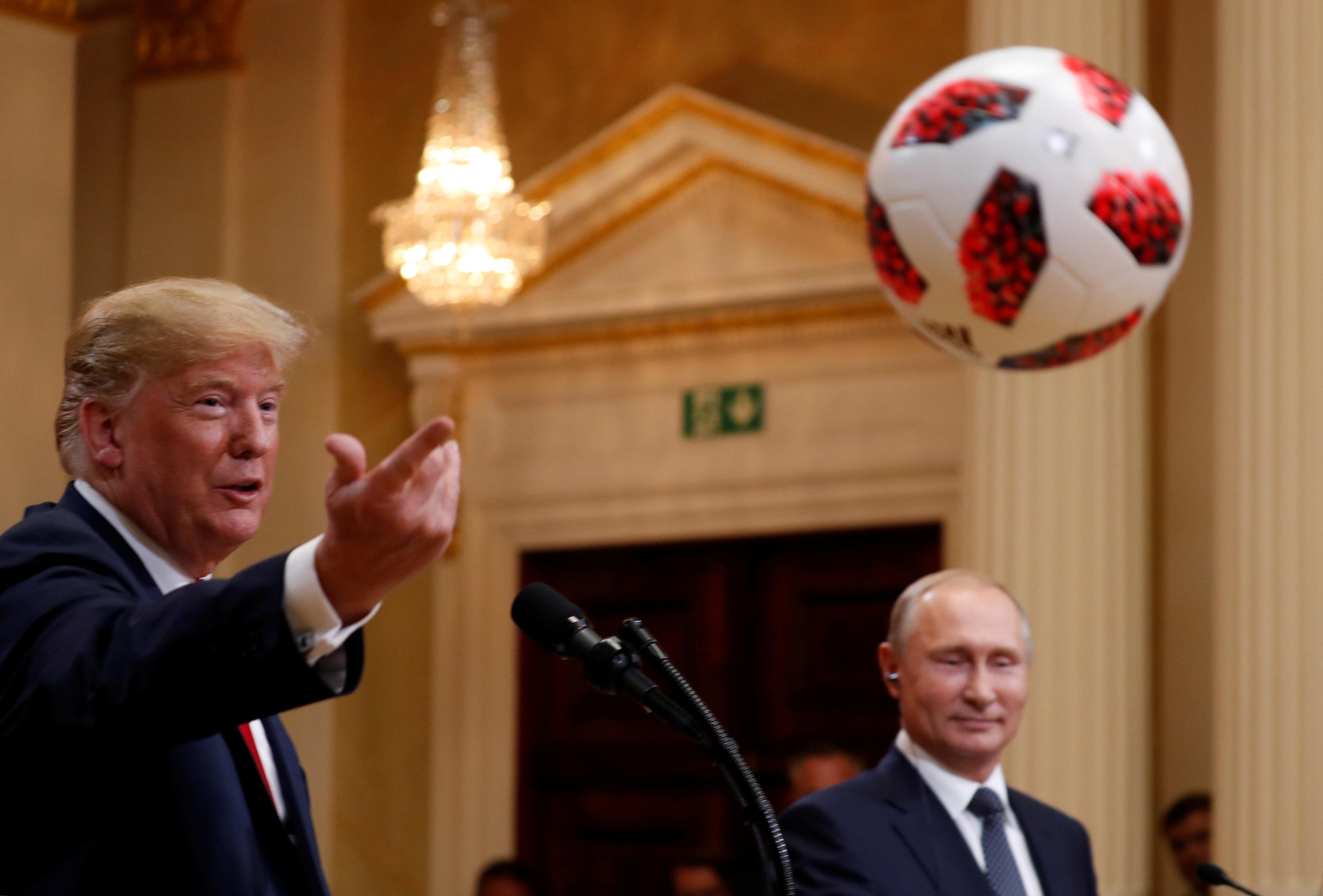 ΗΠΑ και Ρωσία: Η μόνη φωνή που ακούστηκε στο Ελσίνκι ήταν του