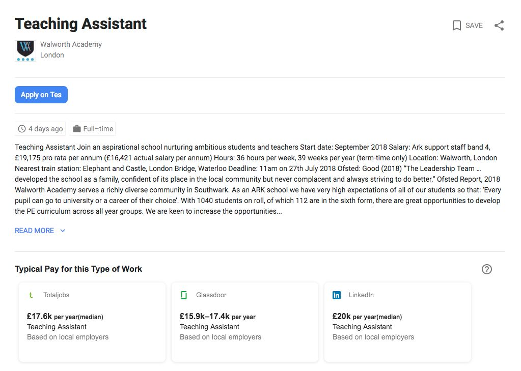 Library partners with Google on new job searching feature